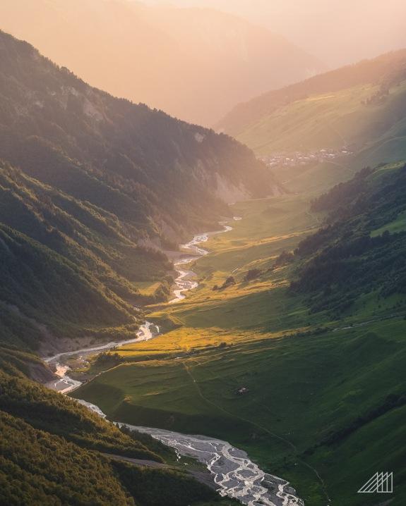 sunset adishi valley svaneti georgia photography roaming ralph