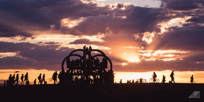 sunset afrikaburn south africa photography roaming ralph