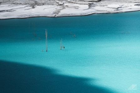 beautiful blue colors of attabad lake pakistan photography roaming ralph