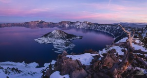 crater lake after sunset oregon photography roaming ralph