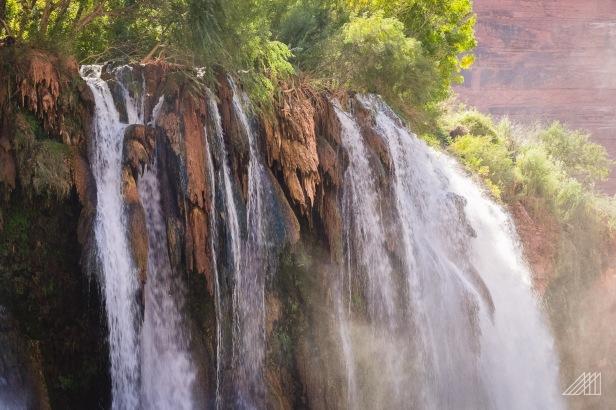 fifty foot falls havasupai arizona photography roaming ralph