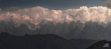 Epic view of central karakorum range from moses peak bara skardu pakistan photography roaming ralph