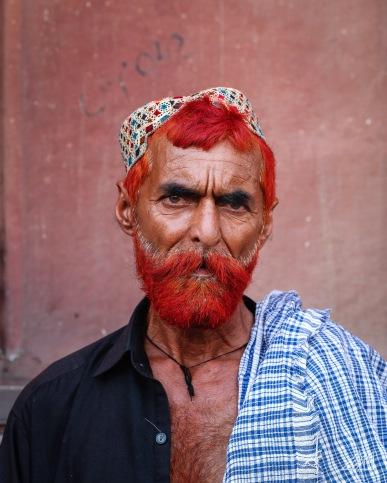 man with henna lahore pakistan photography roaming ralph
