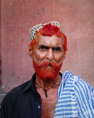 man with henna lahore pakistan photography roaming ralph