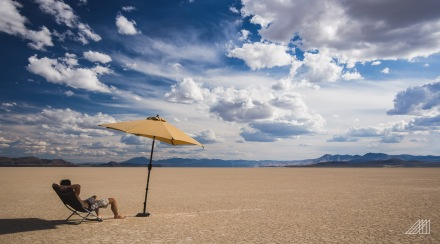 lounging on playa in alvord desert eastern oregon photography roaming ralph