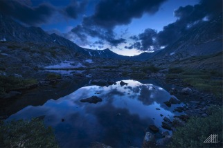 blue hour mohawks lakes breckenridge colorado photography roaming ralph