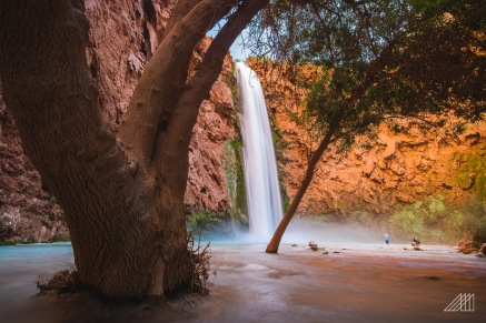mooney falls havasupai arizona photography roaming ralph