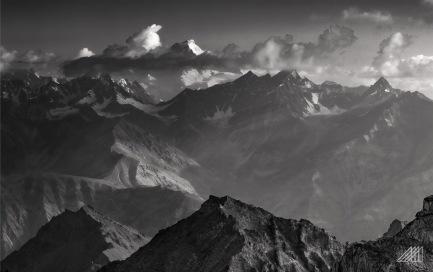 striking light on the central karakorum range as seen from moses peak bara skardu pakistan photography roaming ralph
