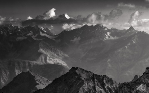 striking light on the central karakorum range as seen from moses peak bara skardu pakistan photography roaming ralph