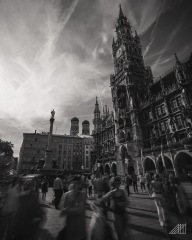 Marienplatz Munich Bavaria Germany photography roaming ralph