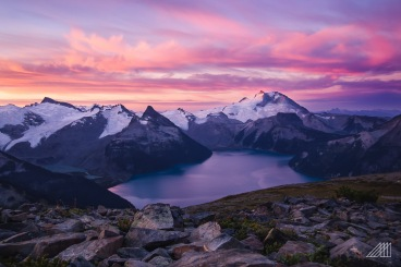 sunrise panorama point garibaldi british colombia photography roaming ralph