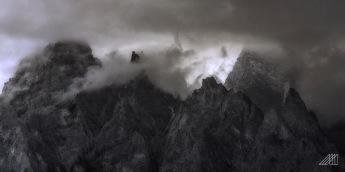 storm developing in the passu cones humza pakistan photography roaming ralph