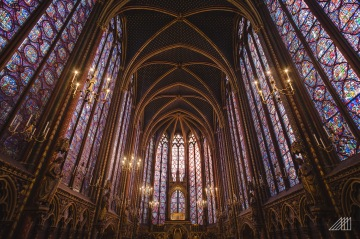 st chappelle church beautiful stained glass paris photography roaming ralph