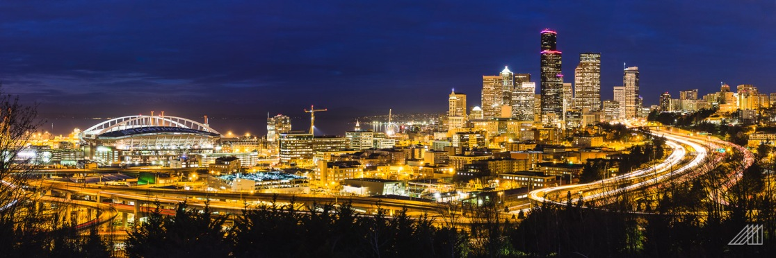 seattle cityscape dawn long exposure washington photography roaming ralph
