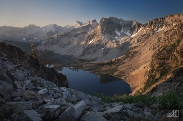sunrise twin lakes toxaway loop sawtooths idaho photography roaming ralph