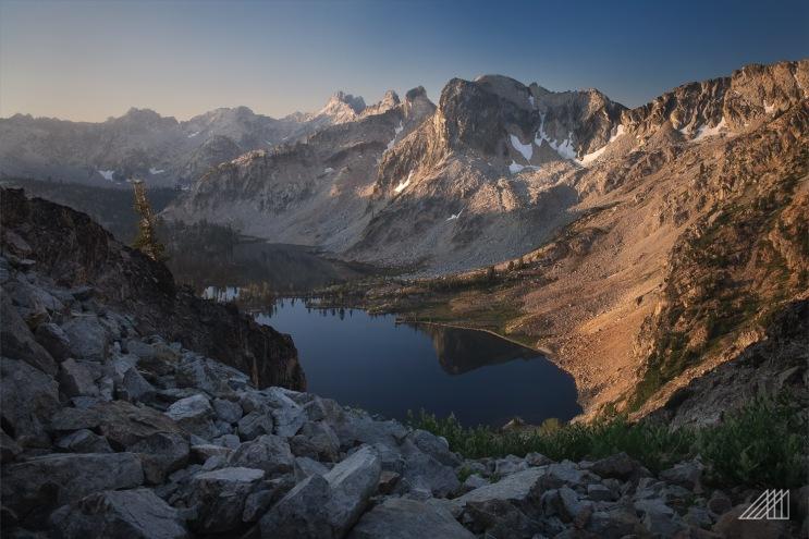 sunrise twin lakes toxaway loop sawtooths idaho photography roaming ralph