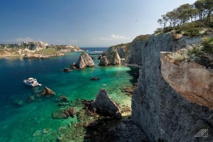 tremiti islands paradise yacht in bay italy photography roaming ralph