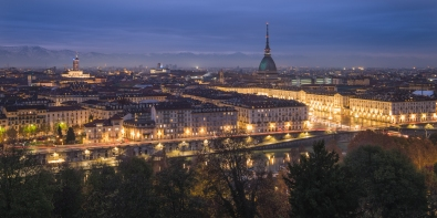turin night long exposure piazza cappuccini roaming ralph italy photography
