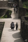 people walking around rhotas fort pakistan photography roaming ralph