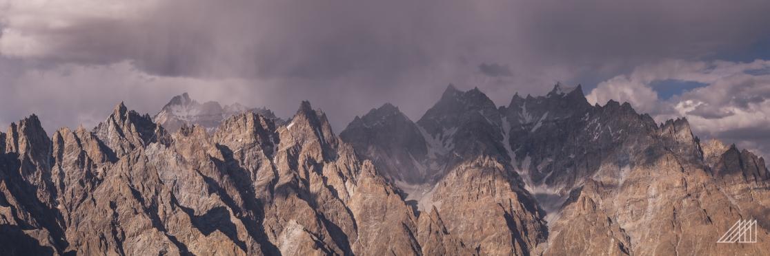 passu cones pakistan after storm