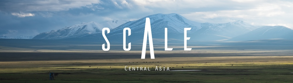 central asia photography scale banner