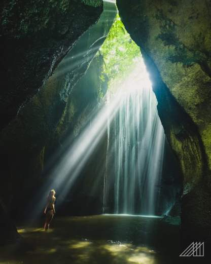 Bali Cave Waterfall (2)